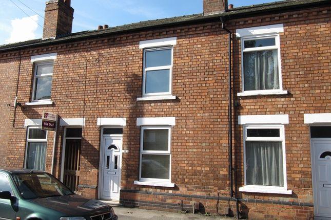 Thumbnail Terraced house to rent in Vernon Street, Newark, Nottinghamshire.