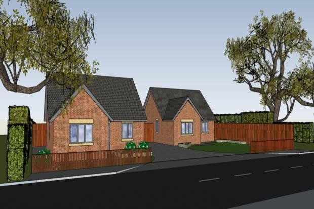 Thumbnail Bungalow for sale in Plot 1, Draycott Road, North Wingfield, Chesterfield, Derbyshire
