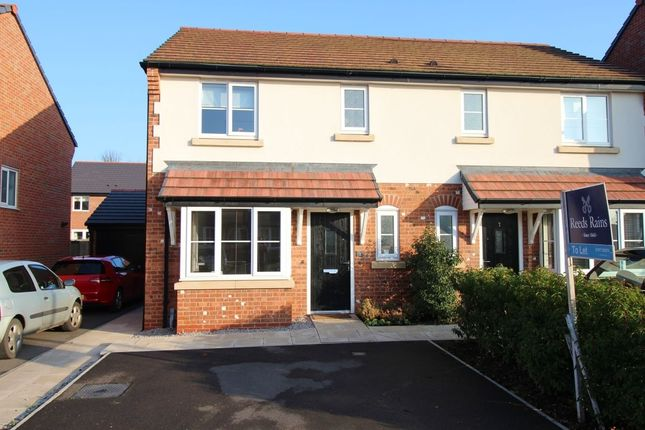 3 bed semi-detached house to rent in Dee Avenue, Holmes Chapel, Crewe