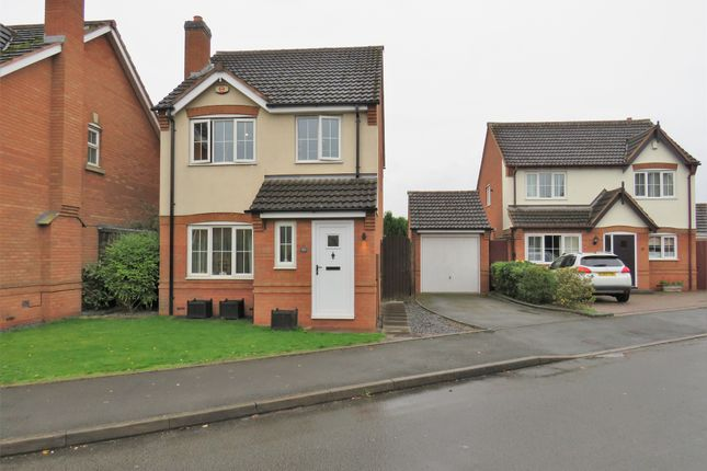 Thumbnail Detached house for sale in Mayfair Drive, Fazeley, Tamworth