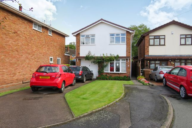 Thumbnail Detached house for sale in Bradgate Close, Willenhall
