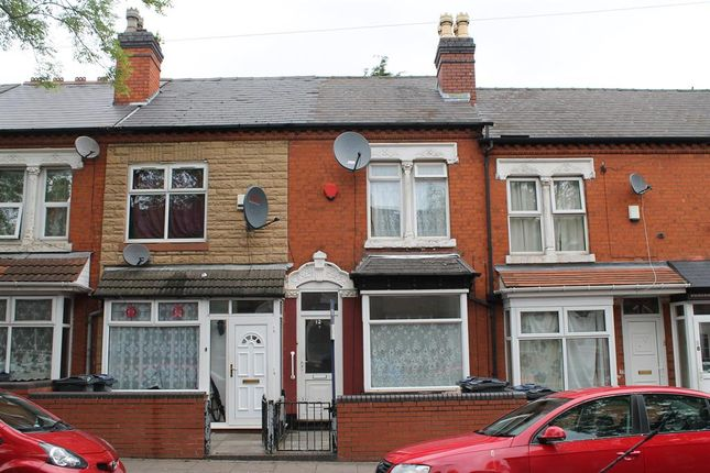 Thumbnail Terraced house for sale in Greenhill Road, Handsworth, Birmingham