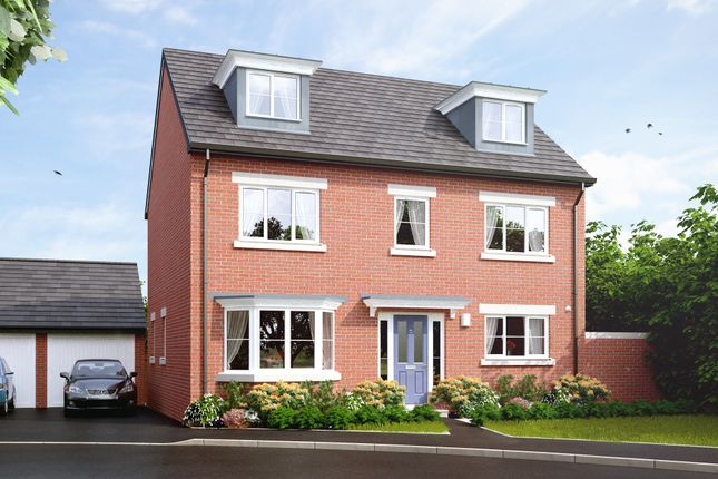 "Thumbnail Detached house for sale in ""The Baughton"" at Main Road, Kempsey, Worcester"