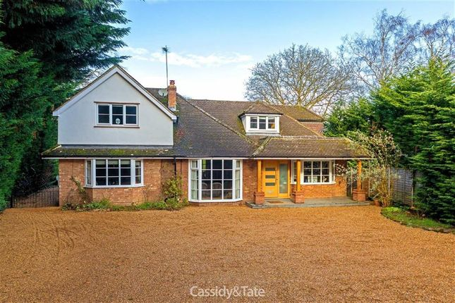 Thumbnail Detached house for sale in Wilkins Green Lane, Hatfield, Hertfordshire