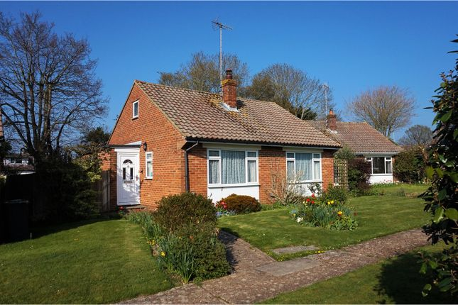 Thumbnail Detached bungalow for sale in Bromley Close, Hassocks