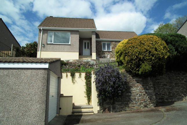 Thumbnail 3 bed detached bungalow for sale in Downs Lane Park, West Looe, Cornwall