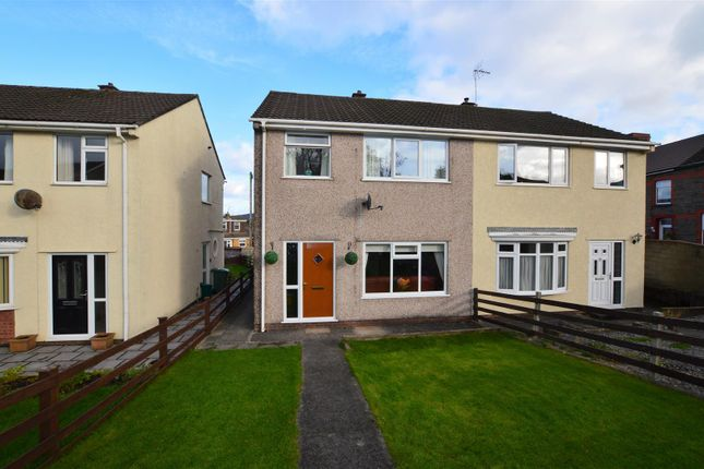 Thumbnail Semi-detached house for sale in Llanharry Road, Brynsadler, Pontyclun