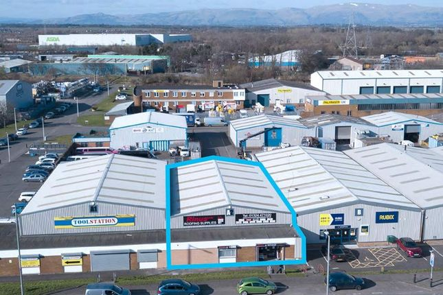 Thumbnail Industrial to let in Unit A2, Etna Road, Falkirk