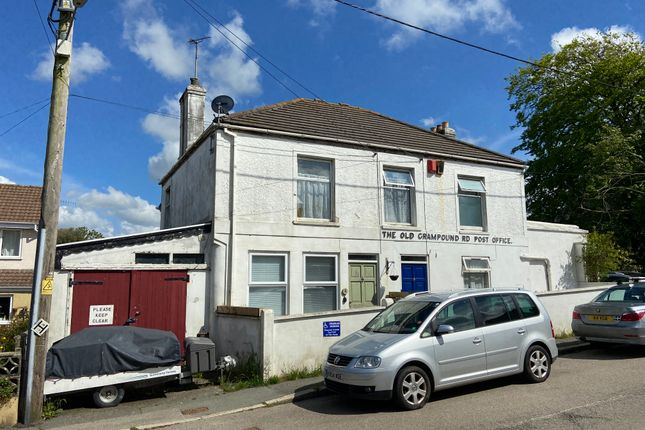 Thumbnail Detached house for sale in The Old Post Office, The Square, Grampound Road, Cornwall