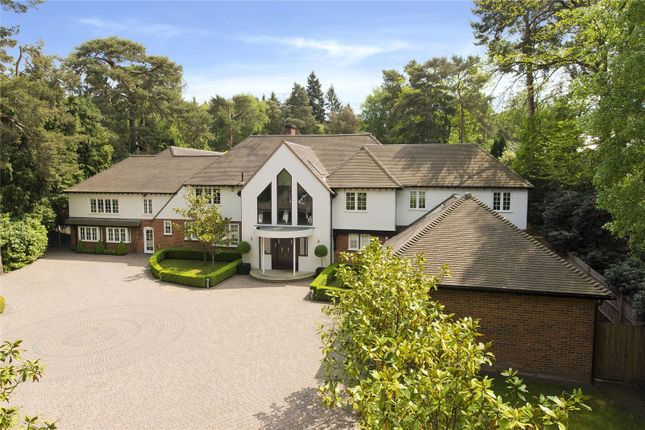 Thumbnail Detached house for sale in West Road, St. George's Hill, Weybridge, Surrey