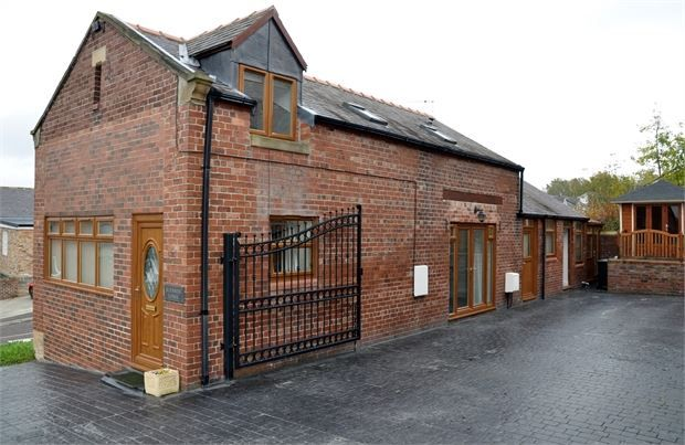Thumbnail Detached house for sale in Burnside Lodge, Mickley Square, Stocksfield, Northumberland.
