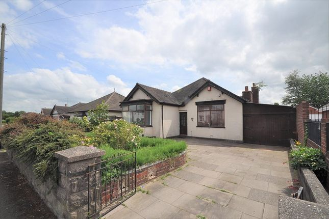 Thumbnail Detached bungalow for sale in Milehouse Lane, Newcastle, Staffs