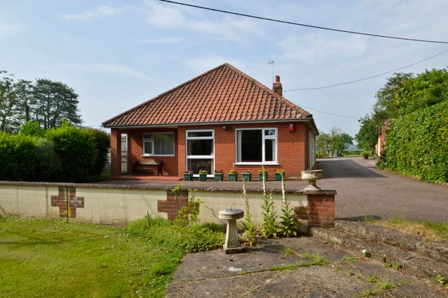 Thumbnail Detached bungalow for sale in Beccles Road, Bungay