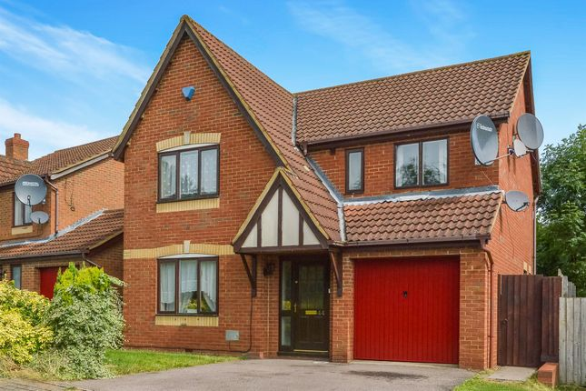 Thumbnail Detached house for sale in Braford Gardens, Shenley Brook End, Milton Keynes