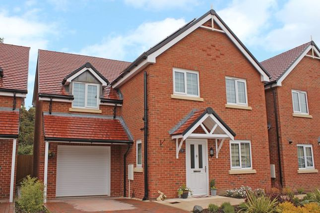 Thumbnail Detached house for sale in Hellyar Rise, Hedge End, Southampton