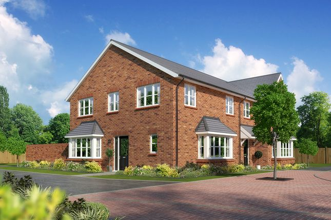 """Thumbnail Semi-detached house for sale in """"Crawford"""" at Close Lane, Alsager, Stoke-On-Trent"""