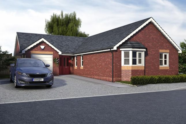 Thumbnail Detached bungalow for sale in Pentrosfa, Llandrindod Wells
