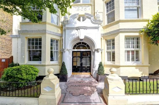 Thumbnail Flat for sale in Onslow Avenue Mansions, Onslow Avenue, Richmond