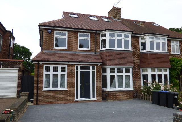 Thumbnail Semi-detached house for sale in Oakwood Park Road, London