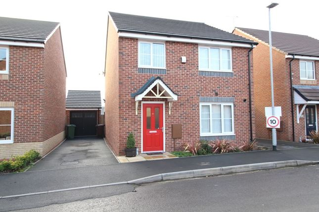 Thumbnail Detached house for sale in Blundell Drive, Stone