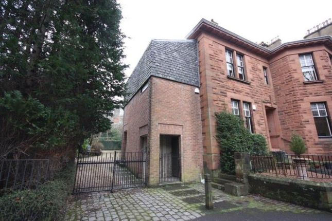 Thumbnail Flat to rent in Crown Terrace, Glasgow
