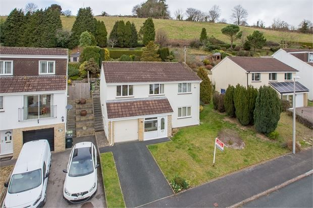 Thumbnail Detached house for sale in The Churchills, Highweek, Newton Abbot, Devon.