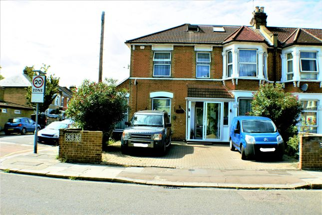 Thumbnail End terrace house for sale in Woodlands Road, Ilford, Essex