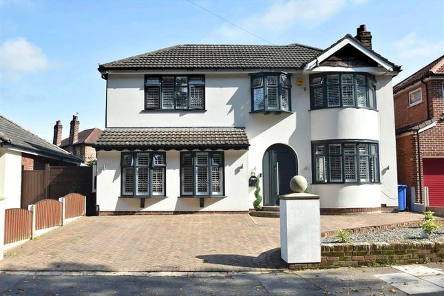 Thumbnail Detached house for sale in Alma Road, Sale