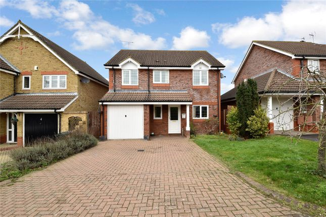 Thumbnail Detached house for sale in Appleton Drive, Wilmington, Kent