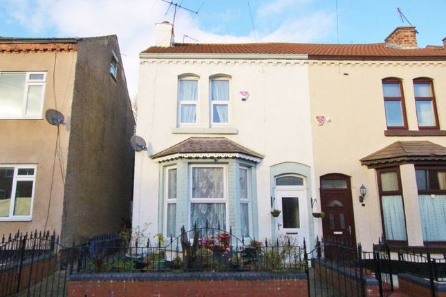 Semi-detached house for sale in Boswell Street, Toxteth, Liverpool