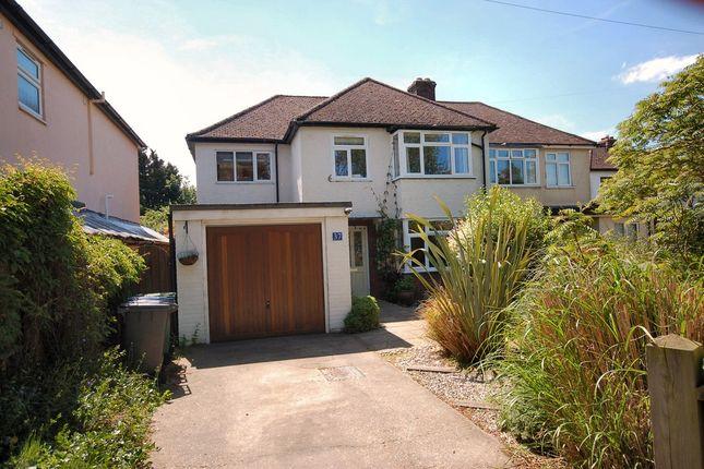 Thumbnail Semi-detached house to rent in Bishops Road, Trumpington, Cambridge