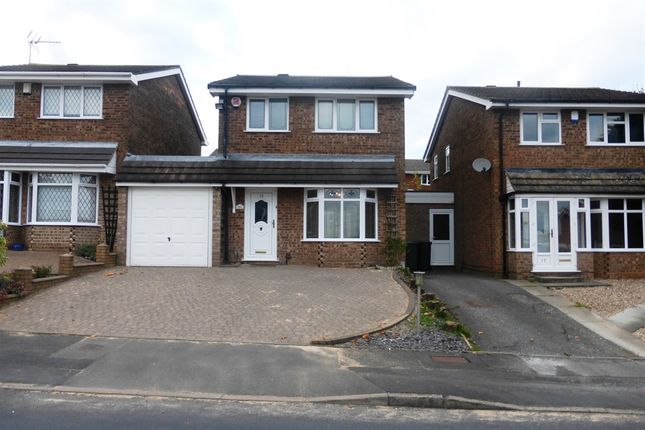 Thumbnail Detached house for sale in Roman Way, Rowley Regis