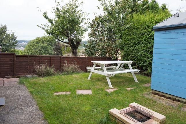 Rear Garden of Heol Tyn-Y-Fron, Aberystwyth SY23