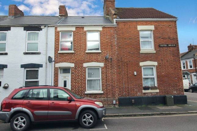 2 bed terraced house to rent in Cecil Road, St Thomas, Exeter EX2