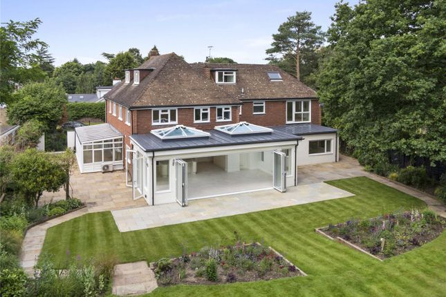 Thumbnail Detached house for sale in Miles Lane, Cobham, Surrey