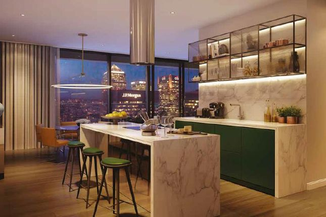 Thumbnail Flat for sale in The Wardian, Marsh Wall, Canary Wharf