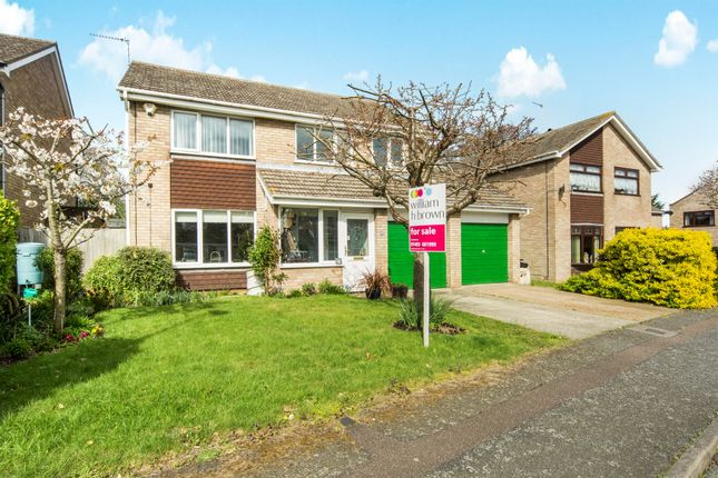 Thumbnail Detached house for sale in The Buntings, Bradwell, Great Yarmouth