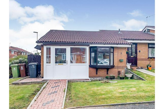 Thumbnail Semi-detached bungalow for sale in Kingsway Close, Oldham