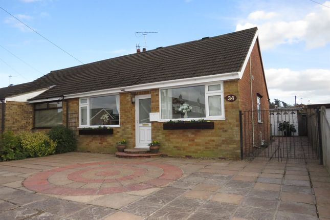 Thumbnail Semi-detached bungalow for sale in Cere Road, Sprowston, Norwich