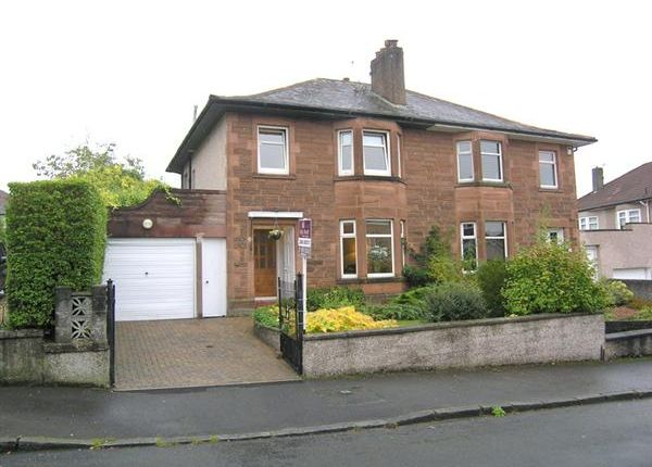 Semi-detached house for sale in York Drive, Rutherglen, Glasgow