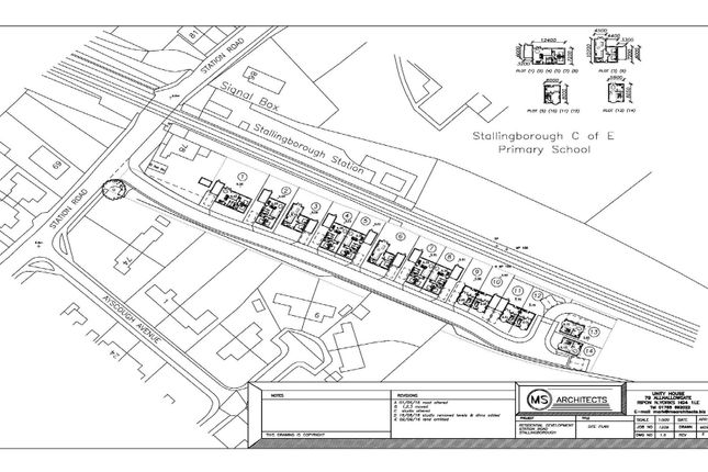 Thumbnail Land for sale in Station Road, Stallingborough, Grimsby