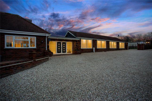 Thumbnail Detached bungalow for sale in Sheering Lower Road, Sawbridgeworth, Hertfordshire