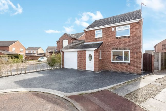 Thumbnail Detached house for sale in Eagle Park, Marton-In-Cleveland, Middlesbrough, Cleveland