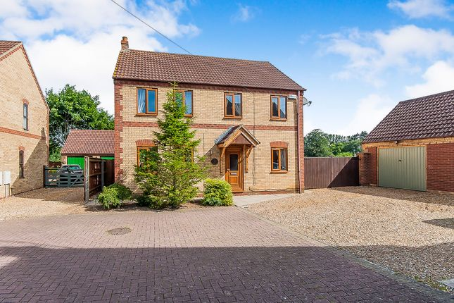 Thumbnail Detached house for sale in Elmwood Mews, Elm, Wisbech