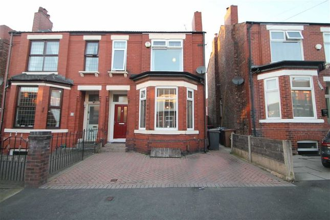 Thumbnail Semi-detached house for sale in Highfield Drive, Eccles, Manchester