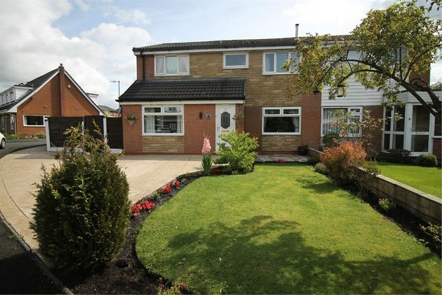 Semi-detached house for sale in Widcombe Drive, Breightmet, Bolton, Lancashire