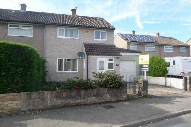 Thumbnail Semi-detached house to rent in Birbeck Road, Caldicot, Monmouthshire
