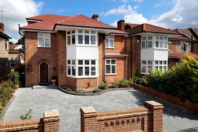 Thumbnail Detached house for sale in Cromford Way, New Malden, Surrey