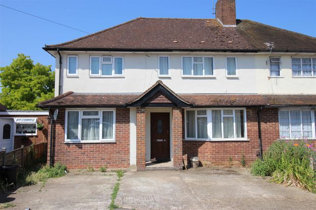 Thumbnail Semi-detached house to rent in Campion Close, Uxbridge