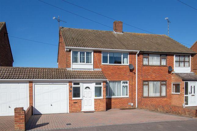 Thumbnail Semi-detached house for sale in Buckwood Avenue, Dunstable, Bedfordshire